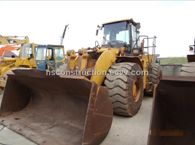 Used 980G wheel loader,Original Japan used wheel loader 980G