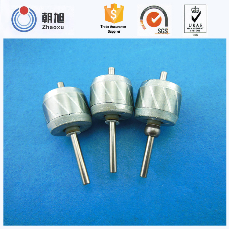 China agent high precision stator rotor shaft for computer parts