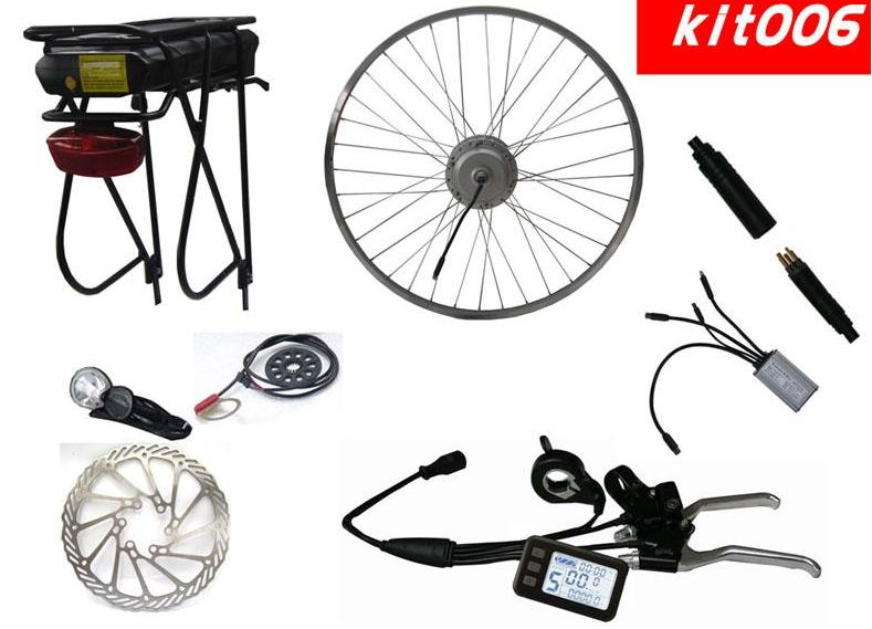 E-Bike Kits with Samsung Lithium Battery (Kit-006)