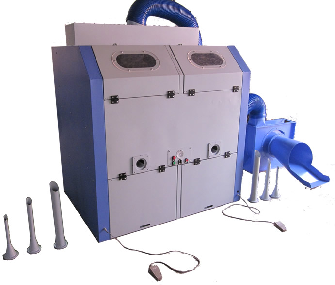 Kapok filling machine