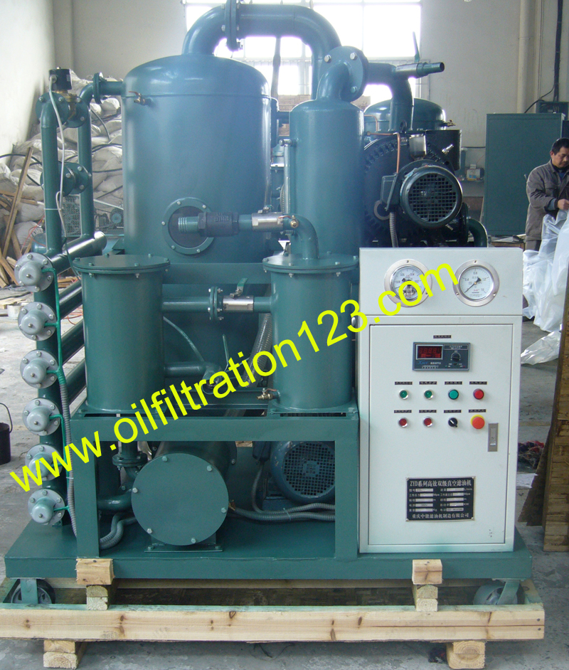 Transformer Oil Filter Machine, Insulation Oil Processing Equipment