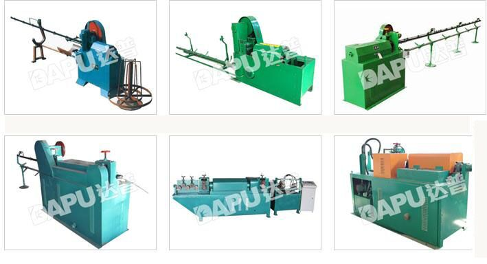 wire stragihtening and cutting machine