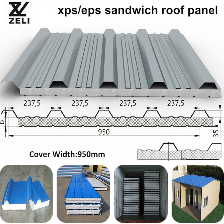 Eps Sandwich Roof Panel Insulation Sandwich Panel From