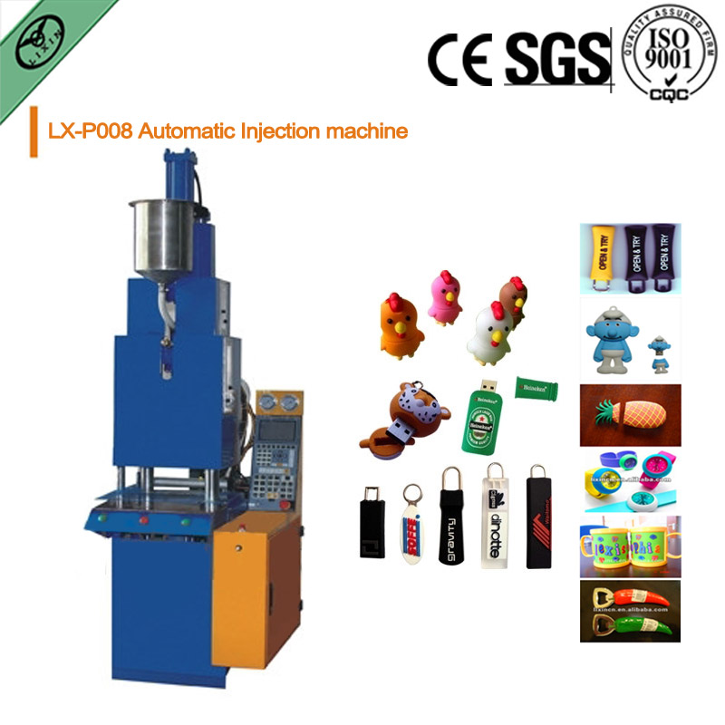 small plastic injection molding machine with CE, SGS automaticlly