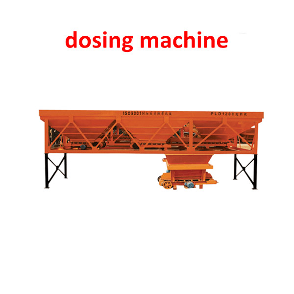 2015 new type high quality dosing machine for fully automatic brick machinery