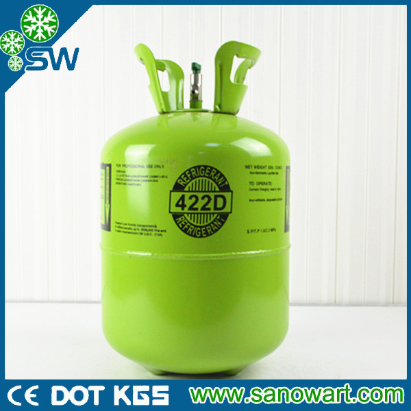 Mixed refrigerant gases r422d Lowest Price R422d