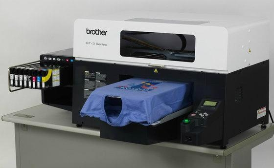 Brother GT-381 DTG Direct To Shirts Digital InkJet Black Dark T-SHIRT Printer