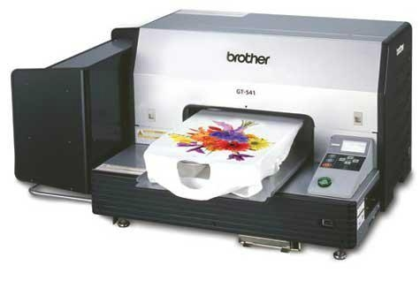 Brother GT-541 DTG Direct To Fabric Digital InkJet Printer