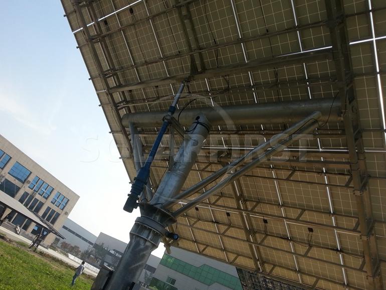 Dual Axis Solar Sun Tracker for solar sun system from China