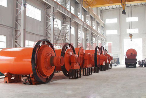 Simple structure, easy to operate ball mill
