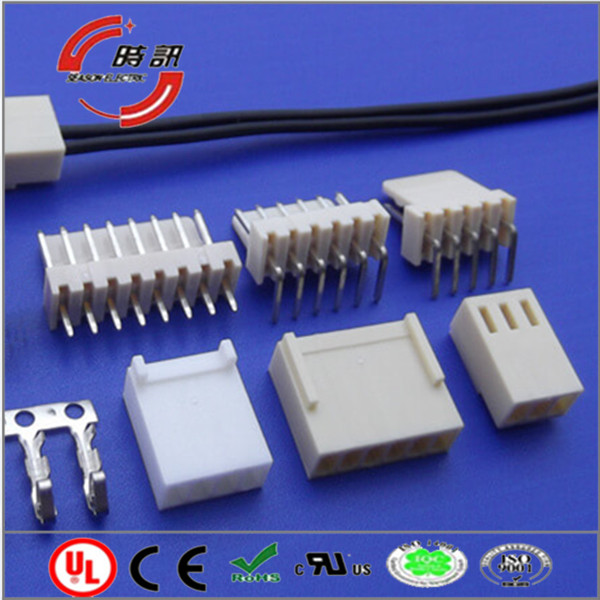 automotive male female connectors 2 pin 2 54mm pitch 2510