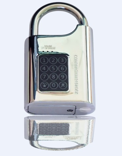 Electronic password padlock used in school locker, gym locker, gun cabinet;apartment and condo