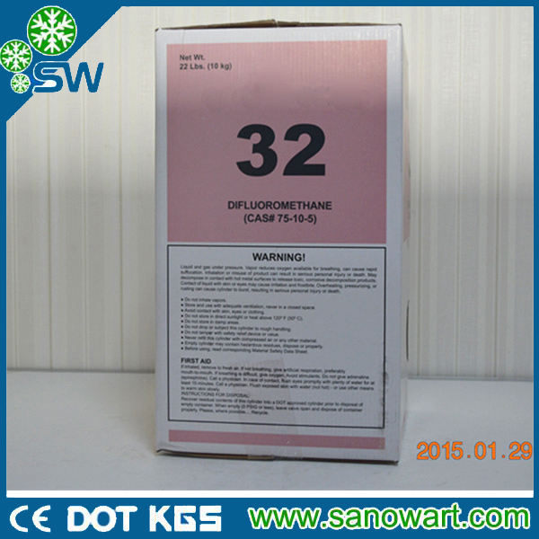 25lb cylinder R32 Refrigerant Gas for Sale rasonable price