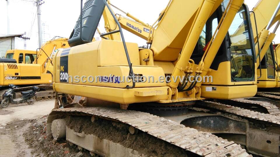 Second Komatsu PC200-7 Excavator, Komatsu Crawler Excavator PC200-7