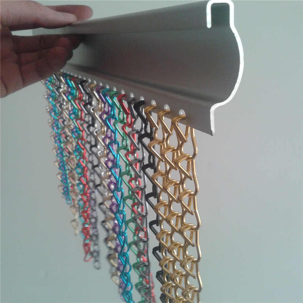 Hot Selling Decorative Chain Door Curtain / Chain Insect Screen
