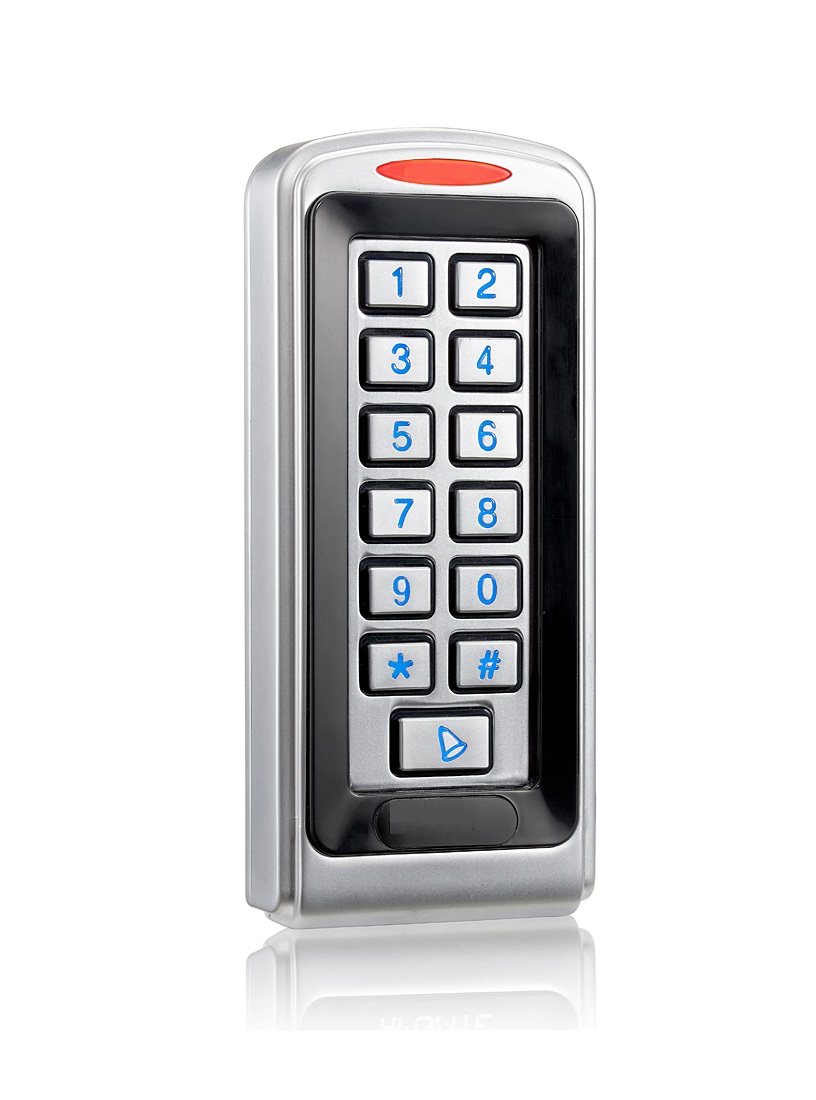 Waterproof Single Door Access Control with Keypad and Luminous (Metal Type, IP68)