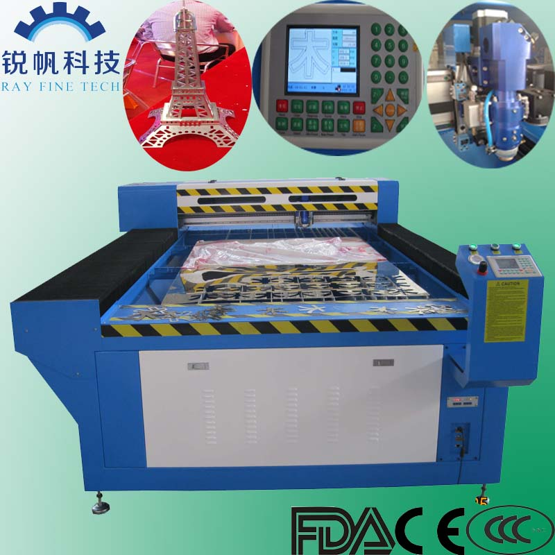 Laser beam cutting machine industry RF-1325-CO2-130W for cutting metal and nometal material