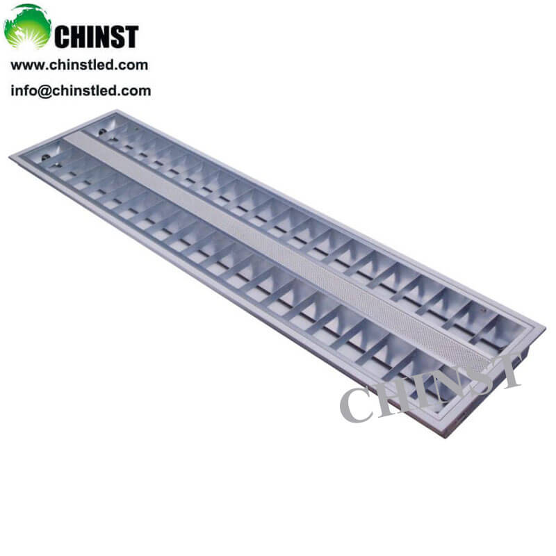 300*1200mm 60W led grid tube T8 lighting fixture