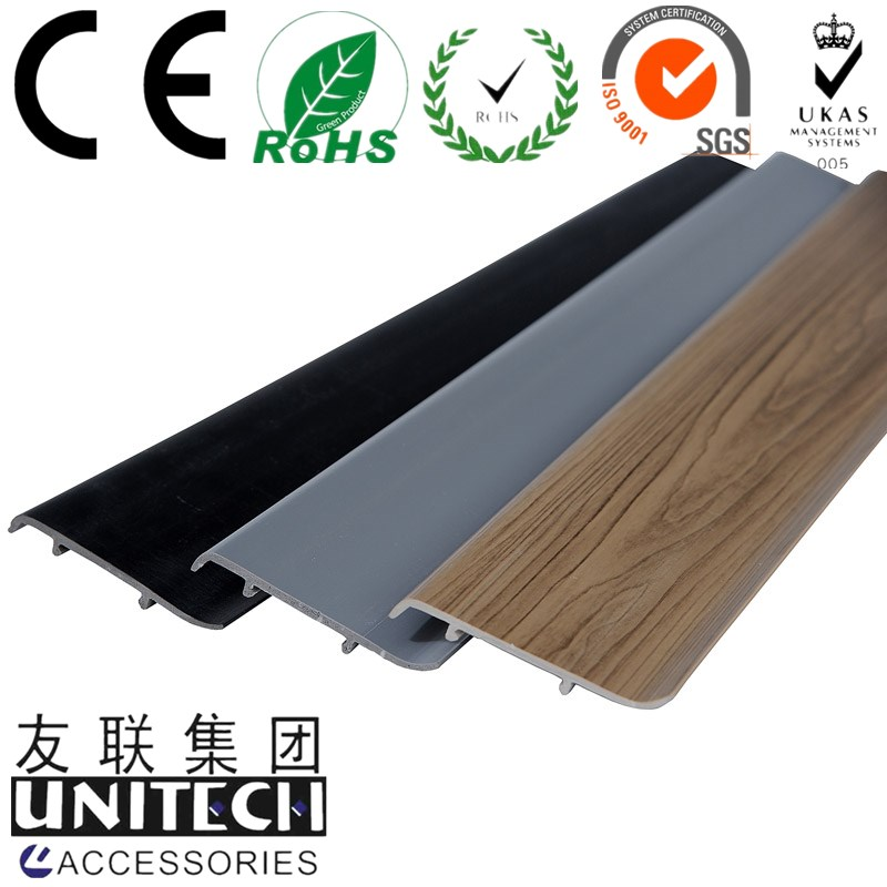 PVC Foam Skirting Board Baseboard Profile