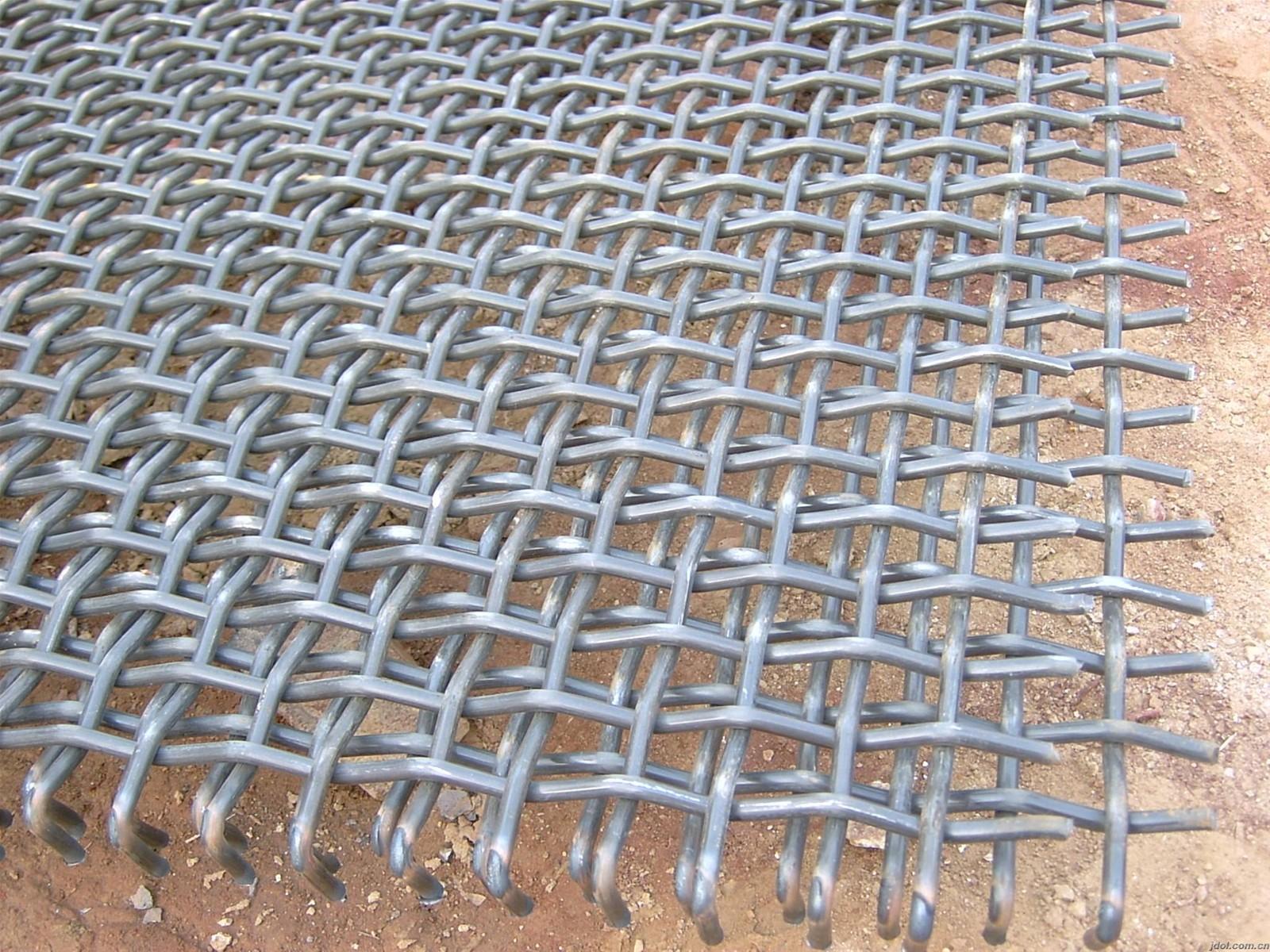 65Mn high tensile vibrating woven screen Mesh purchasing, souring ...