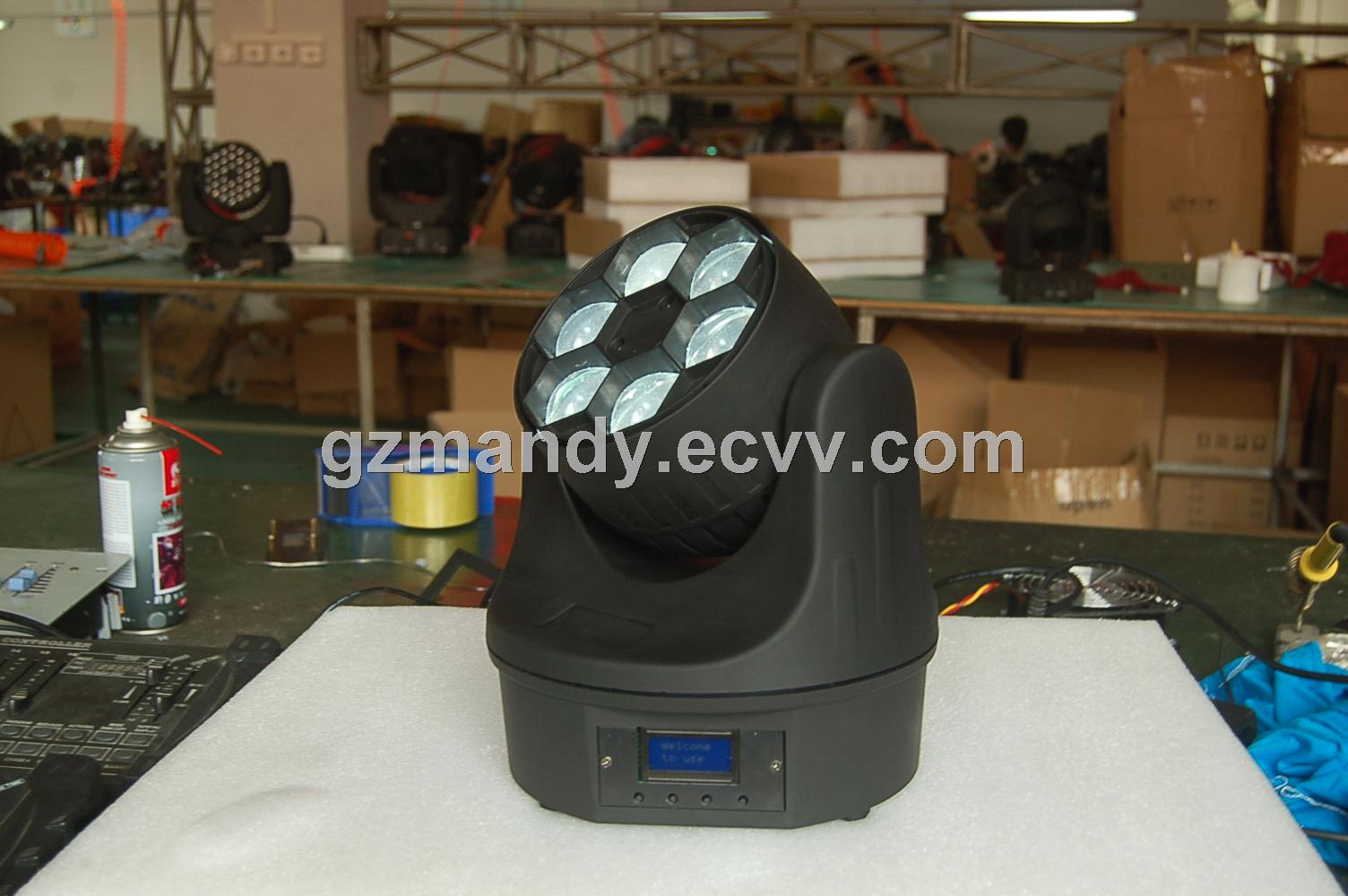 New Product LED 6Eyes*12W RGBW Moving Head BEE Light