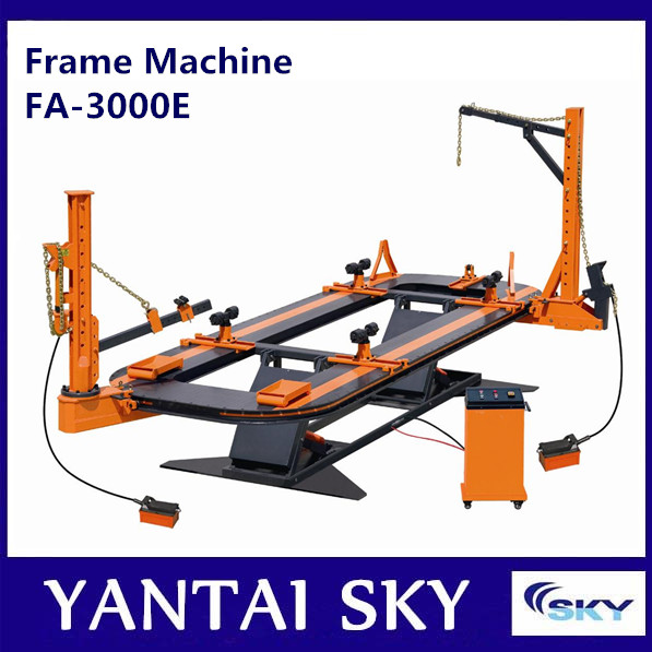 SKY frame machine, frame rack, frame straightener