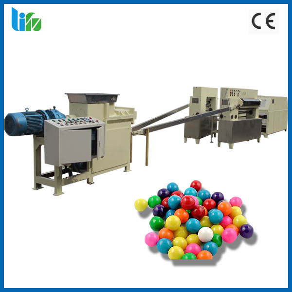 High speed bubble gumball production line