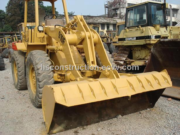 Used 910F CAT Wheel Loader Caterpillar 910 Loader
