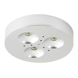 12v 3w Round Under Cabinet Lighting Led Puck Light Kit Cr1103