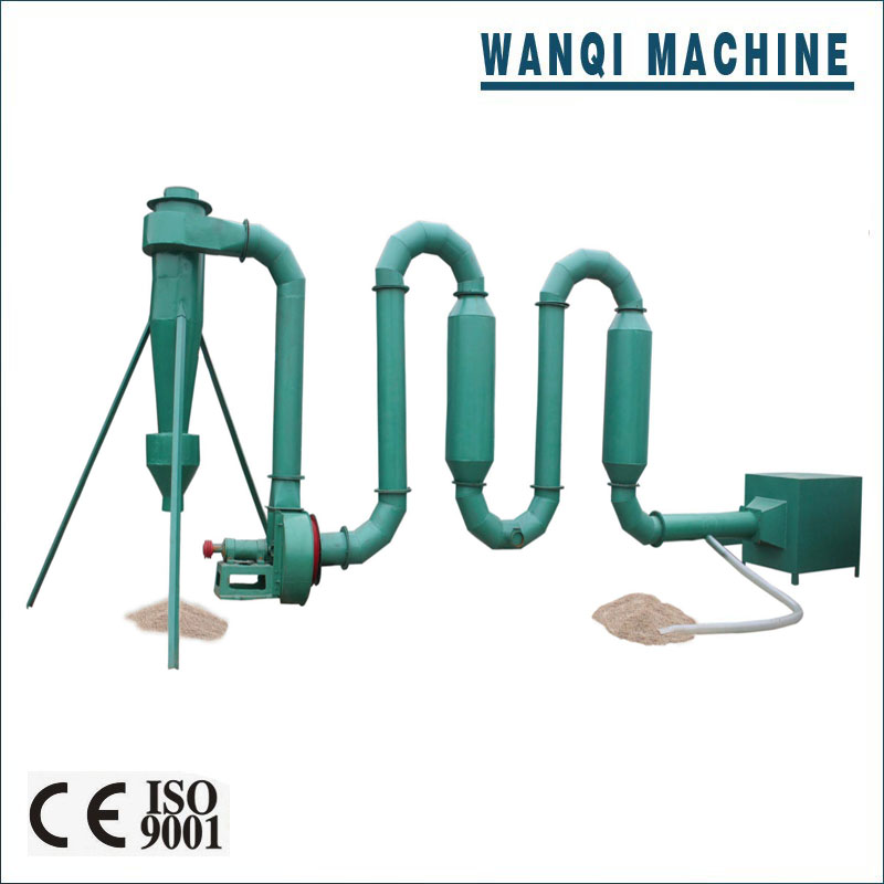 Energy saving and environmental friendly sawdust dryer/ airflow dryer equipment with CE