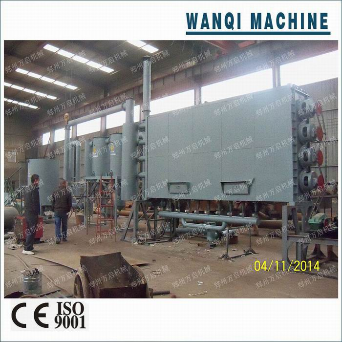 Rice husk continuous carbonization furnace/carbonization stove/charcoal furnace with WANQI brand