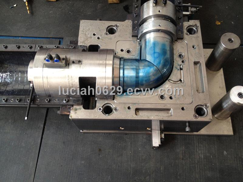 PE corrugated pipe fitting moulds, PE piping, PE fitting molds factory