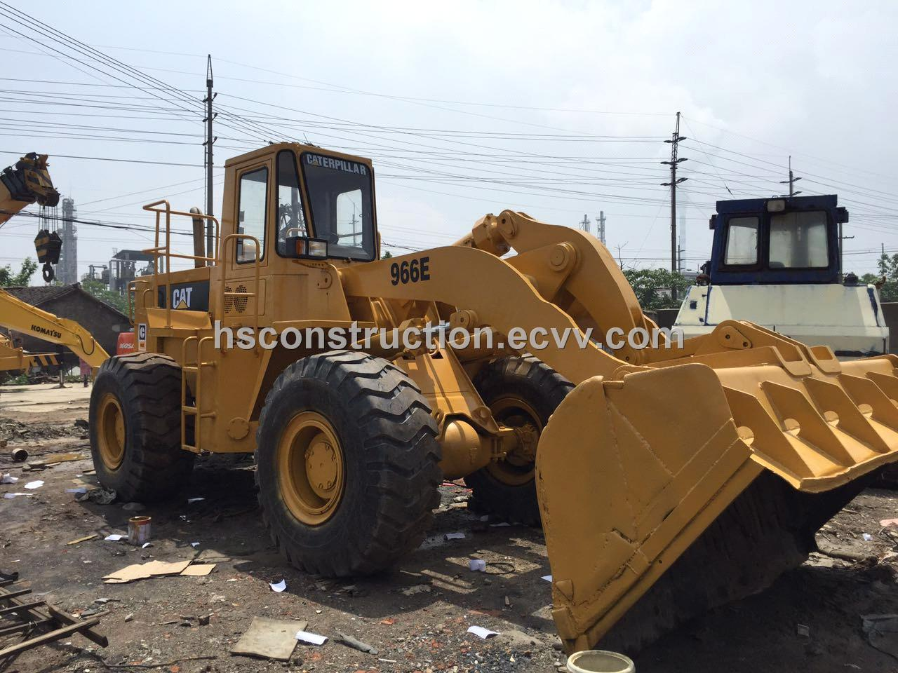 Used CAT 966E Loader Cheap Price-Used caterpillar 966E wheel loader