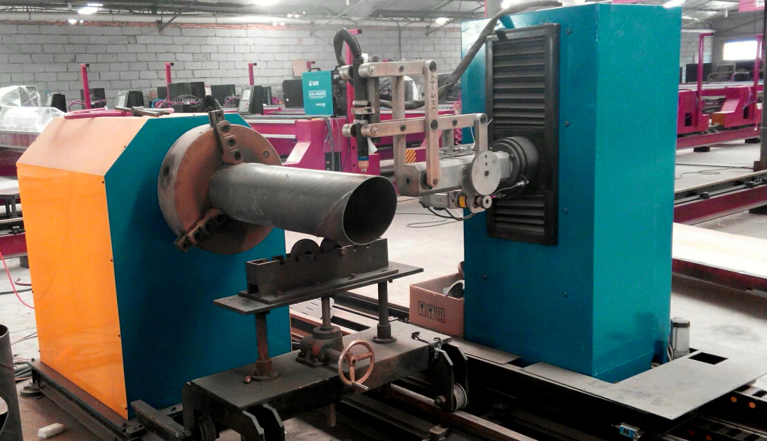 5 Axis Cnc Pipe Profile Cnc Plasma And Flame Cutting
