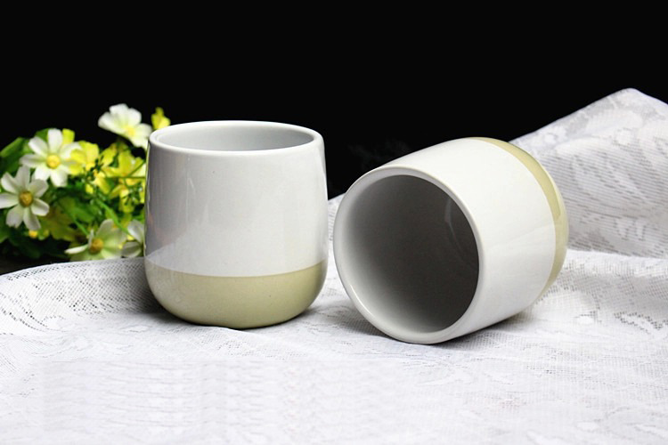 Colorful Ceramic Candle Vessel, Candle Container