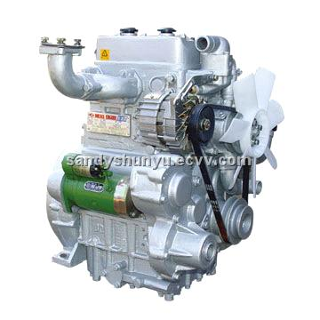 two cylinder jinma dongfeng tractor  jiangdong  diesel engine TY290 295