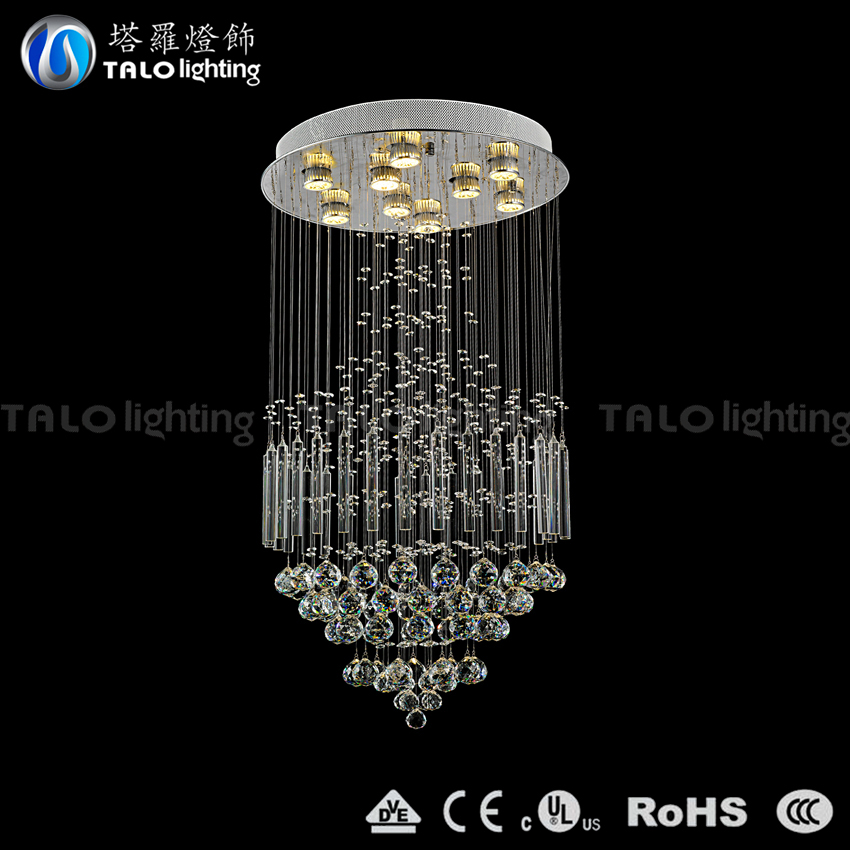 2015 new arrivals contemporary LED chandelier crystal pendant lamp