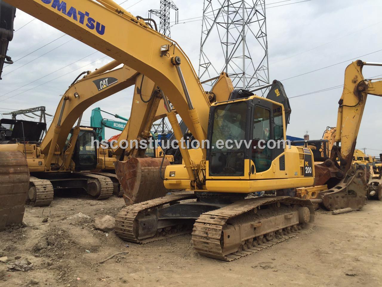 Used Komatsu PC200-8 Crawler Excavator /KOMATSU 200-8 Hydraulic