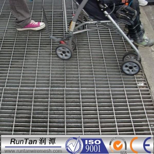 25x5 steel grating ,galvanized steel bar grating weight ,platform steel  grating plate