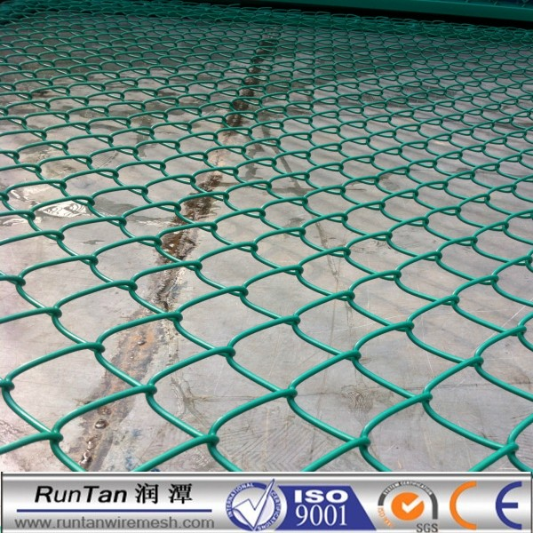 PVC Coated Chain Link Fence in Roll