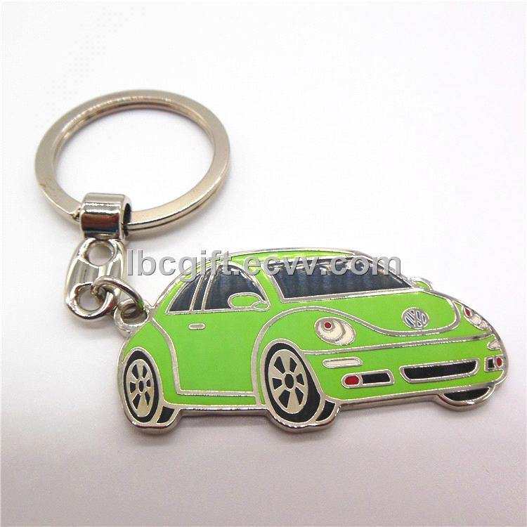 Custom Car Shaped Keychain promotion gifts add any logo
