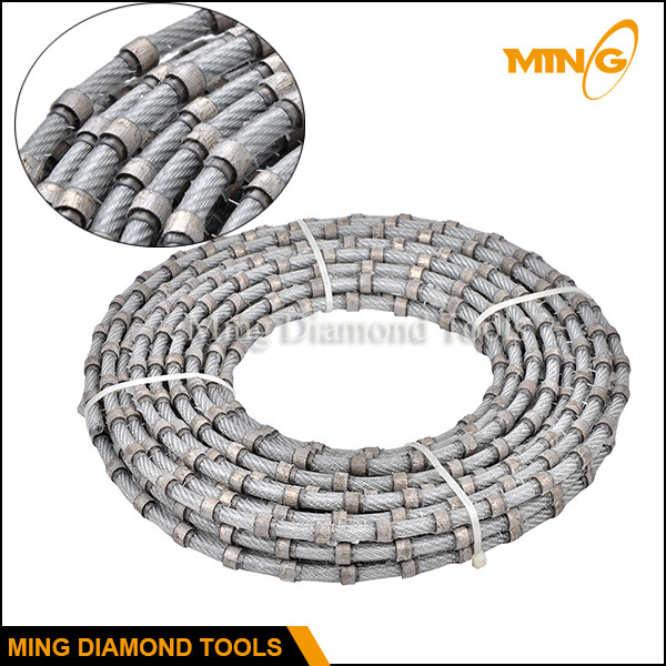Hot Sale Diamond Wires For Granite Stone Cutting Used On Multiwire Saw  Cutting Machine