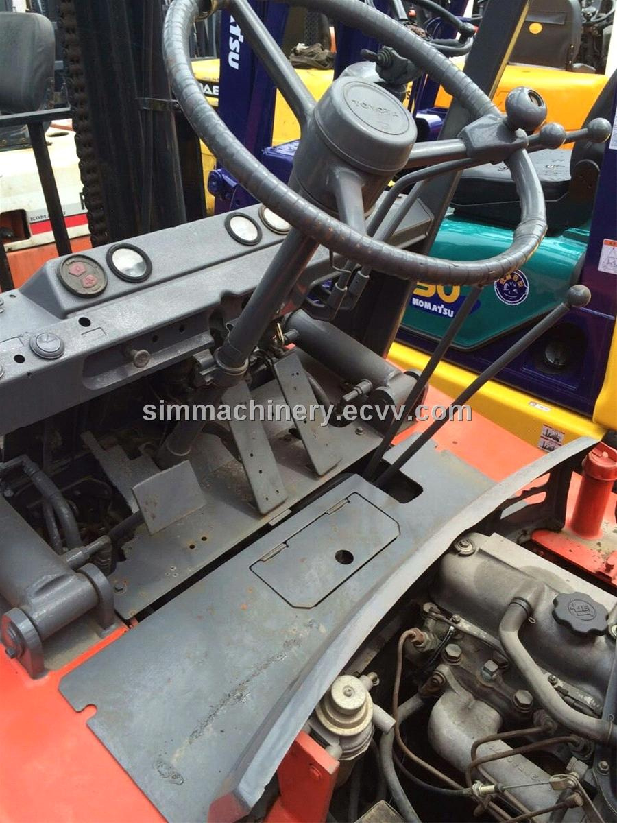 Used condition toyota 3t forklift diesel engine second hand toyota 3t lifter for sale