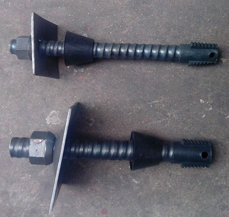 Grouting anchor bolt