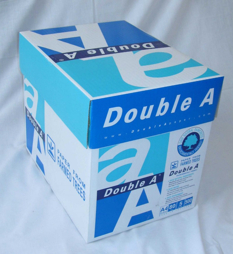 A4 Copy Paper, Double a A4 Paper 80gsm in THAILAND