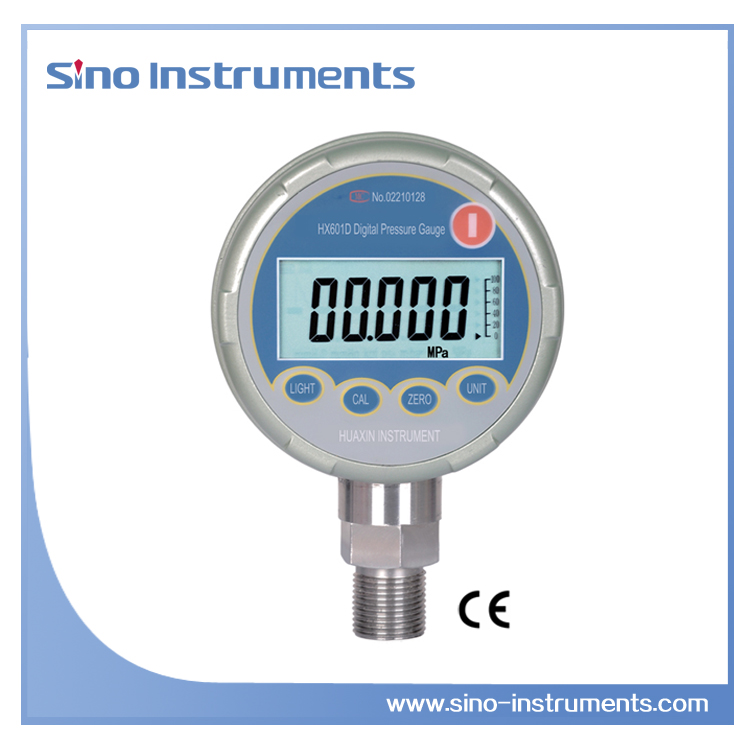 Digital pressure gauges with 10,000 psi