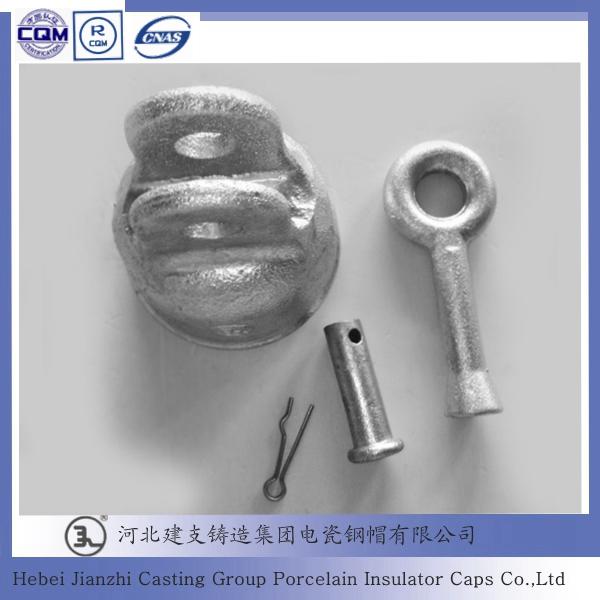 52-5 Disc suspension electrical porcelain insulator cap