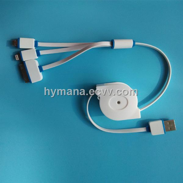 multifunction 3in1 usb charging cable