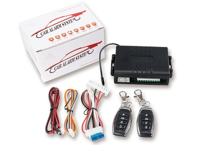 Sample Car alarm system auto accessories remote control car alarm system