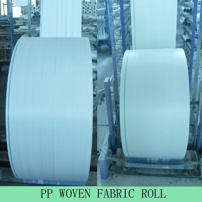PP Woven Fabric Roll/pp woven sack roll
